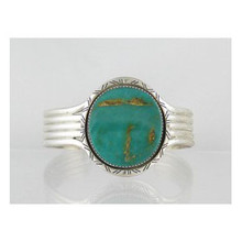 Sterling Silver Emerald Valley Turquoise Bracelet