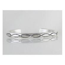 Tahe Sterling Silver Bracelet - Large