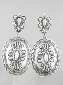 Handmade Sterling Silver Earrings - Eugene Charley (ER0865)