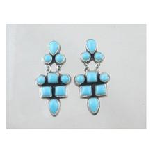Sleeping Beauty Turquoise Earrings (ER2702)