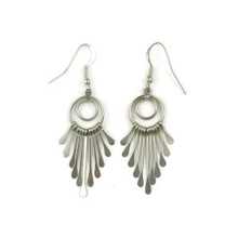 Sterling Silver Dangle Earrings (ER2963)