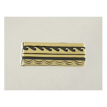Tommy Singer 12k Gold & Silver Money Clip (MC232)