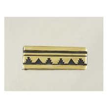 Tommy Singer 12k Gold & Silver Money Clip (MC2343)