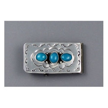 Kingman Turquoise Money Clip by Jan Mariano (MC283)