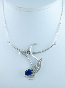 Sterling Silver Lapis