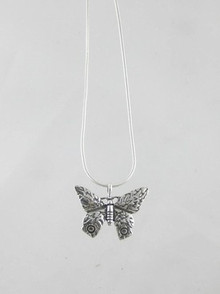Sterling Silver Butterfly Pendant (PD0753)