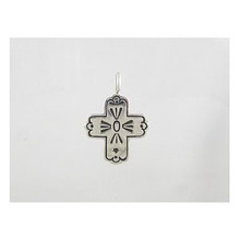 Sterling Silver Cross Charm Pendant