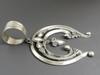 Large Handmade Naja Pendant by Derrick Gordon