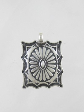 Hand Stamped Sterling Silver Pendant - Sunshine Reeves