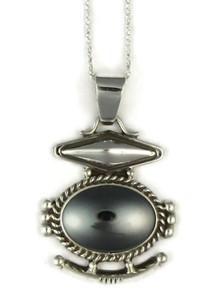 Silver Hematite Pendant by Fritson Toledo