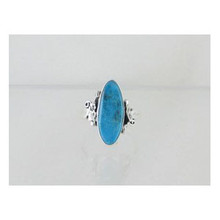 Sterling Silver Turquoise Ring Size 5