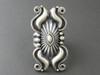 Fancy Handmde Silver Repousse Ring Size 8 by Derrick Gordon