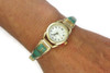 12k Gold Green Kingman Turquoise Watch
