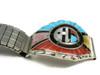 Don Dewa Zuni Sun Face Inlay Watch Band with Spinner
