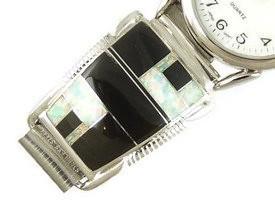 Jet & Opal Inlay Watch