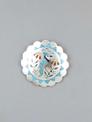 Blue Jay Inlay Pendant & Pin by Zuni Artist Samuel Guardien