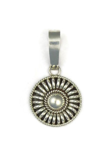 Sterling Silver Pendant by Tom Charley
