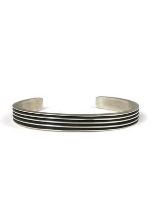 Silver Channel Bracelet by Francis Jones