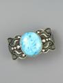 Ithaca Peak Turquoise Cuff Bracelet by Darrell Cadman