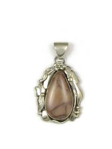 Silver Jasper Pendant by Les Baker Jewelry