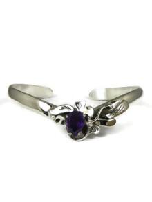 Sterling Silver Amethyst Bracelet by Les Baker Jewelry (PD5572)