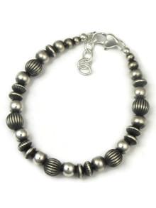 Silver Bead Bracelet (BR5578)