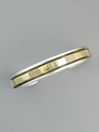 14k Gold & Sterling Silver Bracelet by Bruce Morgan (BR5582)