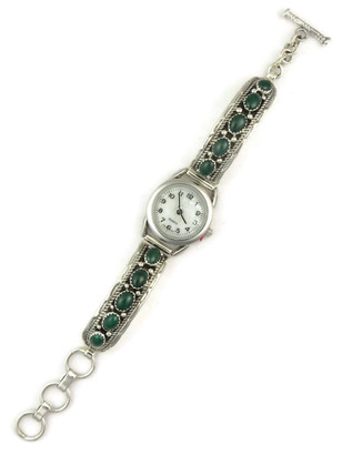 Malachite Watch Bracelet by Jefferson Francisco