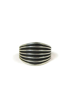 Silver Channel Ring Size 7 1/2 by Francis Jones