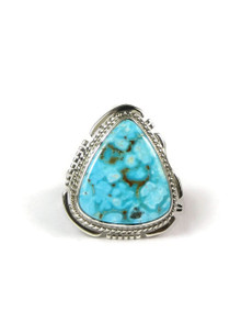 Turquoise Mountain Gem Ring Size 7 by Larson Lee