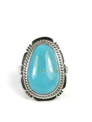 Manassa Turquoise Ring Size 6 by Sampson Jake