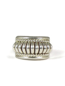 Sterling Silver Ring Size 7 1/2 by Thomas Charley