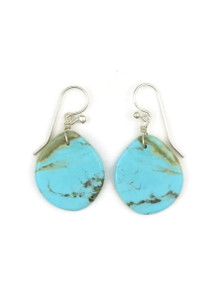 Turquoise Slab Earrings by Ronald Chavez (ER4450)