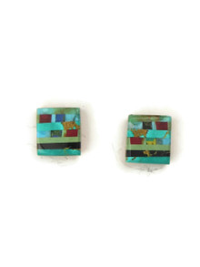 Mosaic Inlay Earrings by Ronald Chavez (ER4472)
