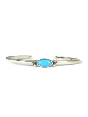 Dainty Sleeping Beauty Turquoise Bracelet (BR4492)