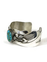 Blue Ridge Turquoise Bracelet by Les Baker