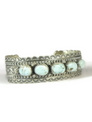 Dry Creek Turquoise Row Bracelet by Jane Defauto
