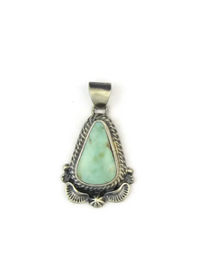 Natural Dry Creek Turquoise Pendant
