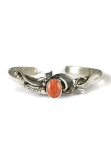 Spiny Oyster Shell Bracelet by Les Baker Jewelry (BR5609)