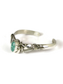 Pilot Mountain Turquoise Bracelet by Les Baker Jewelry