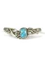 Kingman Turquoise Bracelet by Les Baker Jewelry