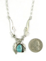 Turquoise Mountain Necklace by Les Baker Jewelry