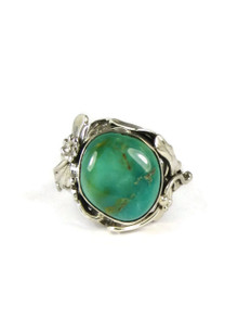 Royston Turquoise Ring Size 7 by Les Baker Jewelry
