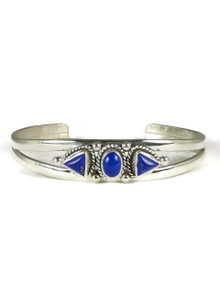 Silver Lapis Bracelet (BR4104)
