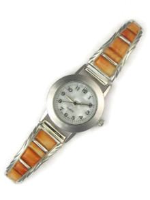 Spiny Oyster Shell Inlay Watch