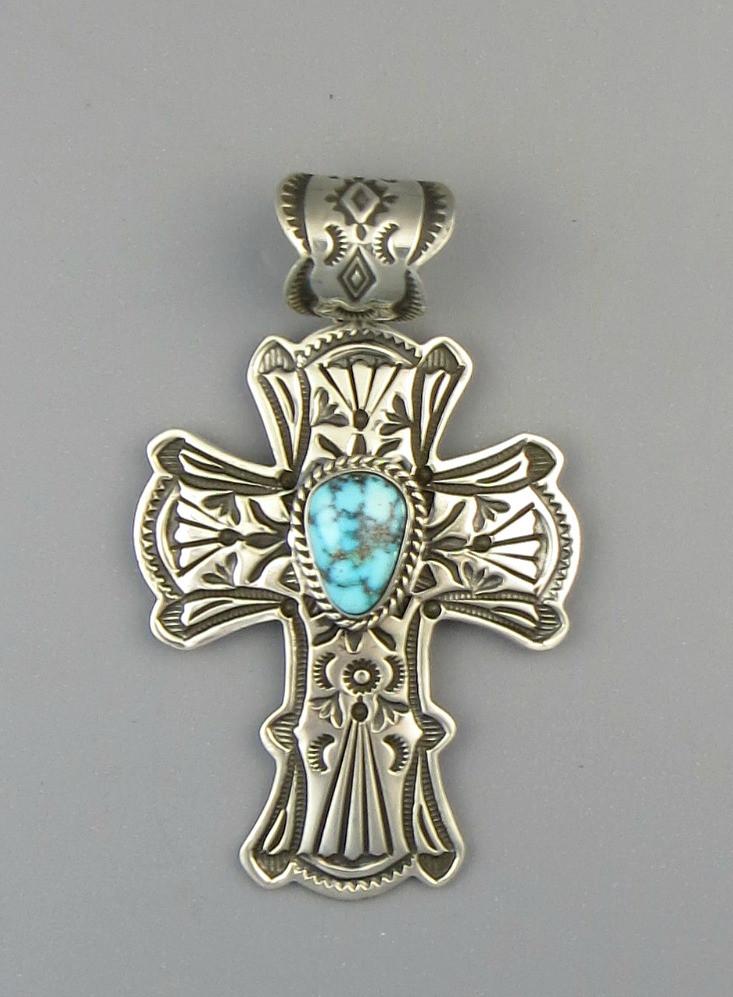 Kingman turquoise cross pendant by happy piaso pd4846 southwest kingman turquoise cross pendant by happy piaso pd4846 aloadofball Images
