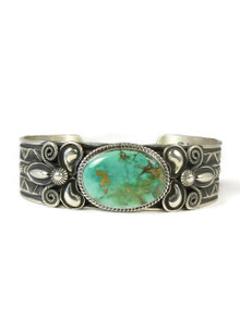 Pilot Mountain Turquoise Bracelet by Andy Cadman