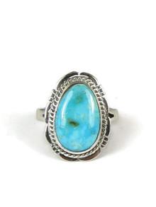 Turquoise Mountain Gem Ring Size 7