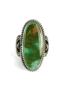 Royston Turquoise Ring Size 9 by Albert Jake