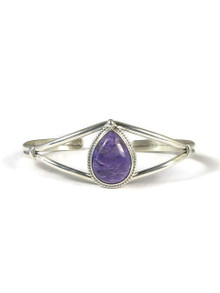 Silver Charoite Bracelet